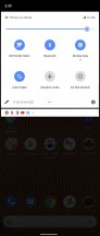 Quick toggles - Sony Xperia 1 III review