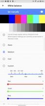 Display settings - Sony Xperia 1 III review