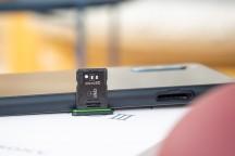 Hybrid microSD slot - Sony Xperia 10 III review