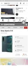 Multi-window switcher - Sony Xperia 5 III review