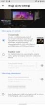 Display settings - Sony Xperia 5 III review