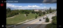 vivo V21 5G: 90Hz mode playing back full-screen video - vivo V21 5G review