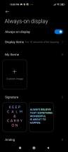 Always-on display - Xiaomi Mi 11 Lite 5g review