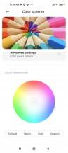 Color settings - Xiaomi Mi 11 Lite 5g review