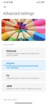 Display settings - Xiaomi Mi 11i/Mi 11X Pro review