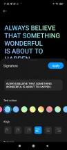 Always-on display - Xiaomi Redmi Note 10 Pro review