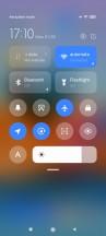 Control Center - Xiaomi Redmi Note 10 Pro review