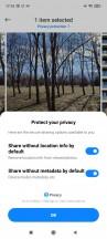Privacy Settings - Xiaomi Redmi Note 10 Pro review