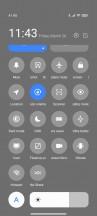 Стіл сповіщень та Центр управління - огляд Xiaomi Redmi Note 10