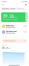 Battery settings - Xiaomi Redmi Note 10 review