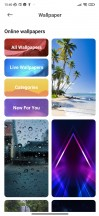 Wallpapers and Themes - Xiaomi Redmi Note 8 2021 review