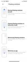 Floating windows - Xiaomi Redmi Note 8 2021 review