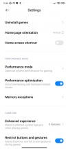 Special features and Game Turbo - Xiaomi Redmi Note 8 2021 review