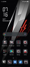 Home screen, notification shade, recent apps, general settings menu - ZTE nubia Red Magic 6 review