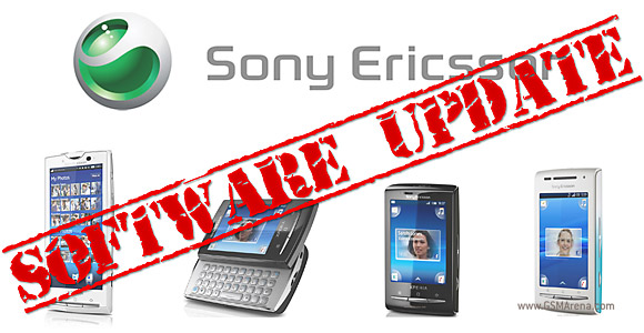 Sony Ericsson X10 and X8 families get updated