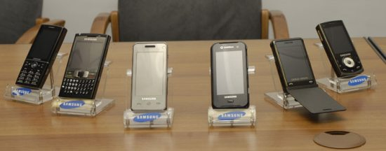 New Samsung phones revealed