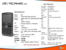 LG GW600 Herald