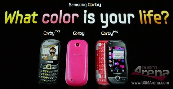 Samsung Corby Family