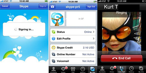 VoIP over 3G with Apple iPhone 3G and 3Gs