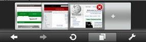 Opera Mobile 10 beta screenshot