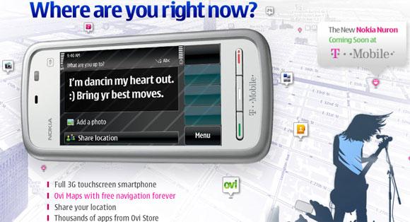 Nokia 5230 Nuron is headed to T-Mobile USA