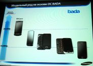 Four new Bada phones shown in Samsung event