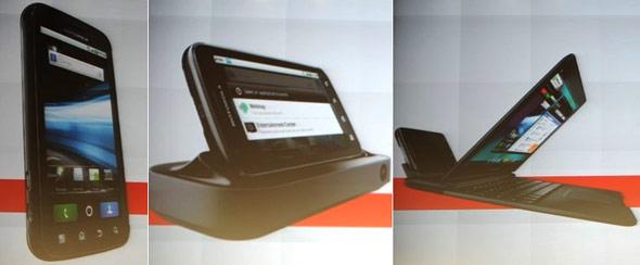 Motorola Atrix 4G with Webtop