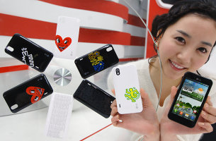Keith Haring LG Optimus Black