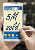 5 million Samsung Galaxy Note 3s sold in the first month