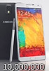 Samsung announces 10 million Galaxy Note 3s shipped