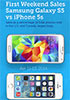 Galaxy S5 outsells iPhone 5s over launch weekend