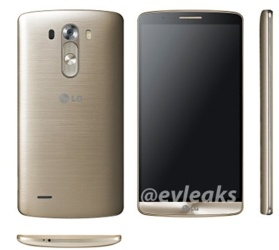 New press renders of LG G3 in white and gold surface