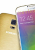 Samsung Galaxy F leaks again, this time in gold