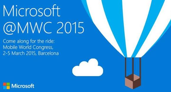 Microsoft MWC 2015 Conference