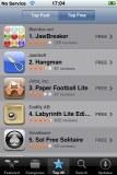 iPhone 3G screenshot