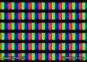 Apple iPhone 5c display matrix
