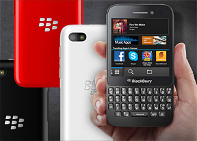 BlackBerry Q5 review: The apprentice