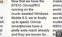 MicroB on Nokia N900
