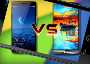 LG G3 vs Oppo Find 7: Resolution wars