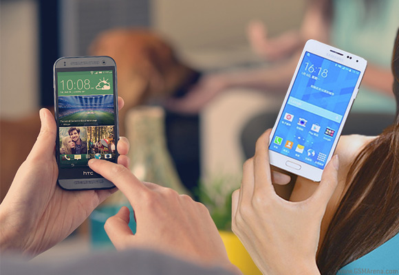 Samsung Galaxy Alpha vs. HTC One Mini 2