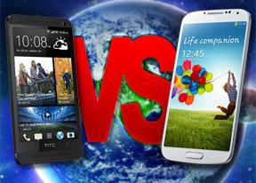 Samsung Galaxy S4 vs. HTC One