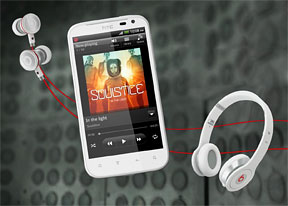 HTC Sensation XL review: Music and the beast