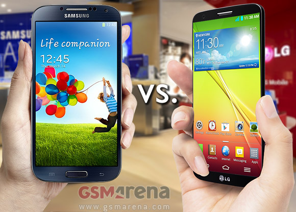 Samsung Galaxy S4 vs  LG G2: Neighbor squabble - GSMArena com tests