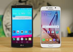 LG G4 vs. Samsung Galaxy S6: Next door rivals