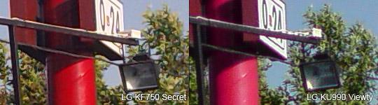 LG KF750 Secret vs LG KU990 Viewty