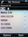 Screenshots of Motorola RAZR2 V8