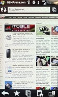 HTC Touch Pro2 browser