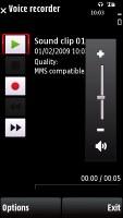 Nokia X6 screenshot