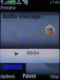 Screenshots of Nokia 6500 slide