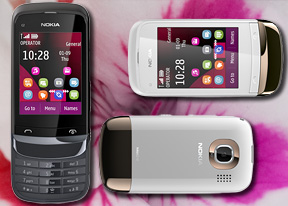 Nokia C2-02 review: A simple touch